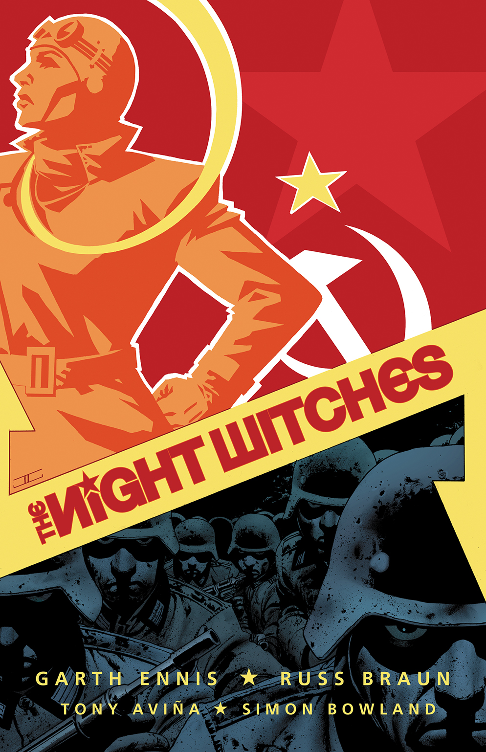 Capa de John Cassaday para o primeiro exemplar da mini-série: Battlefields - The Night Witches